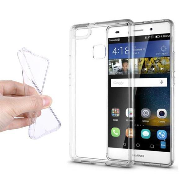 Grote foto huawei p9 lite transparant clear case cover silicone tpu hoe telecommunicatie mobieltjes