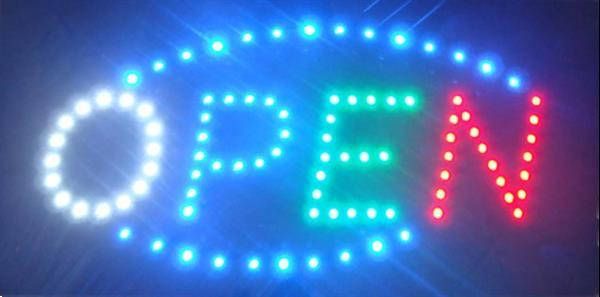 Grote foto open led bord lamp verlichting lichtbak reclamebord c9 huis en inrichting overige