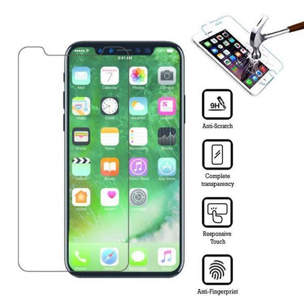 Grote foto 10 pack screen protector iphone x tempered glass film gehard telecommunicatie toebehoren en onderdelen