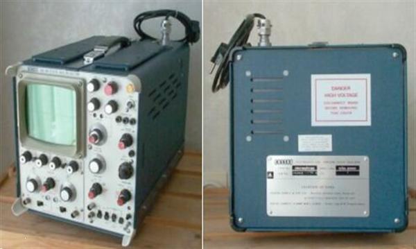 Grote foto 1974 cossor oscilloscope cdu 150 hobby en vrije tijd diversen