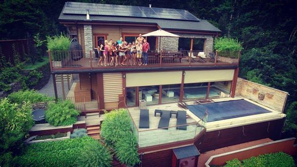 Grote foto ardennen durbuy luxe chalet te huur met wellness vakantie belgi