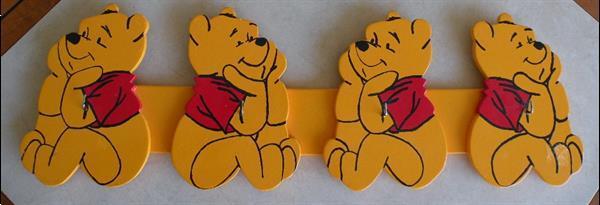 Grote foto kapstok winnie the pooh. nieuw. kinderen en baby inrichting en decoratie