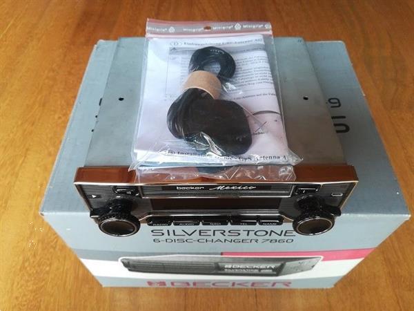Grote foto becker mexico 7948 retro auto onderdelen navigatie systemen en cd