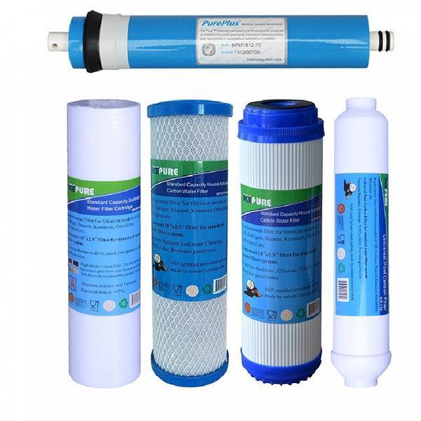 Grote foto omgekeerde osmose vervangingsset compleet 75 gpd doe het zelf en verbouw materialen en producten