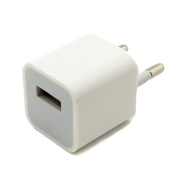 Grote foto a1265 2pin eu stekker muur lader 5v 1a oplader usb ac thui telecommunicatie opladers en autoladers