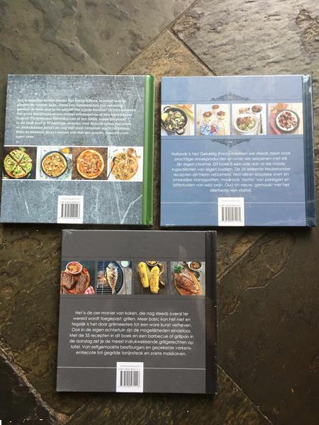 Grote foto 3 kookboeken nieuw in folie boeken kookboeken