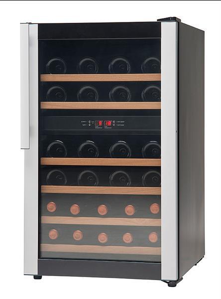 Grote foto wijnklimaatkast wijnkoelkast ruime keus witgoed en apparatuur koelkasten en ijskasten