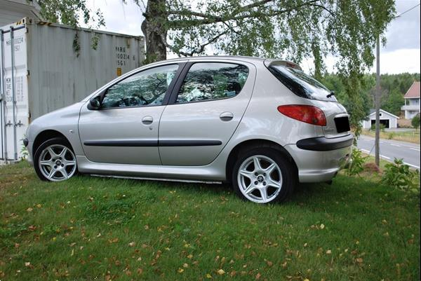 Grote foto peugeot 206 1 4 hdi xs line auto peugeot