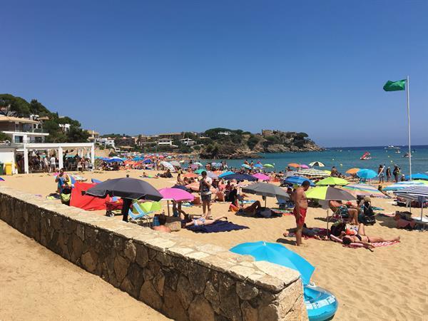 Grote foto chalettas spanje costa brava vakantie europa zuid