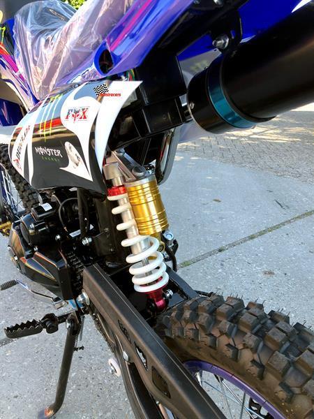 Grote foto crosser monster energy 250cc fietsen en brommers overige fietsen en brommers