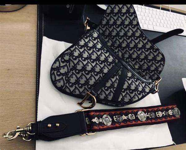 Grote foto leverbaar dior saddle large bag incl.dure strap kleding dames damestassen