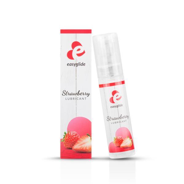 Grote foto strawberry waterbasis glijmiddel 30ml erotiek vibrators