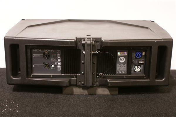 Grote foto rcf hdl20 a amplified 1400w line array speaker audio tv en foto luidsprekers