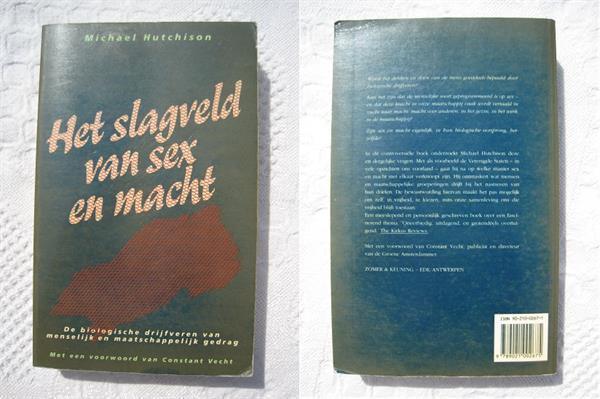 Grote foto 034 het slagveld van sex en macht m hutchison boeken psychologie