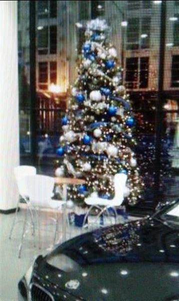 Grote foto kerstboom huren met versiering geleverd diversen versiering