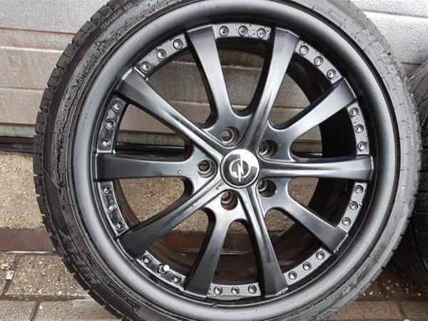 Grote foto 18 inch opel vectra gts astra zafira velgen banden auto onderdelen banden en velgen