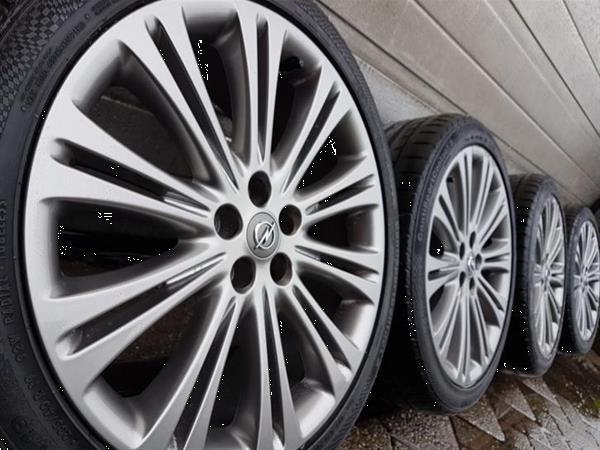Grote foto 19 inch opel astra j en ampera zafira 5x115 velgen auto onderdelen banden en velgen