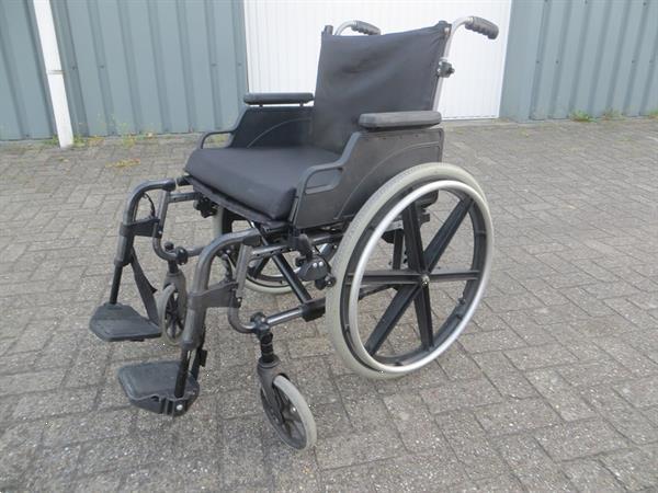 Grote foto rolstoel lichtgewicht opvouwbaar met sterwielen beauty en gezondheid rollators