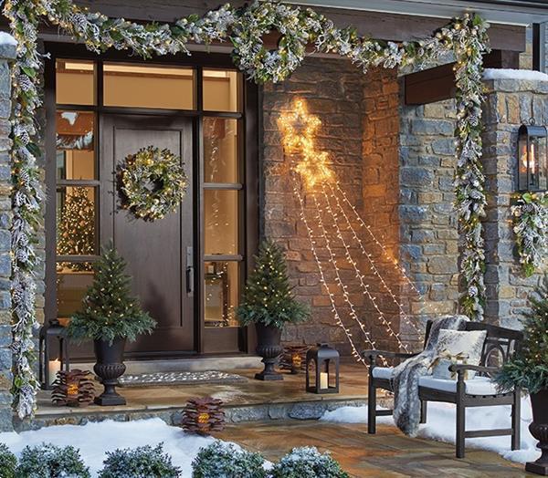 Grote foto opgetuigde kerstbomen afbeeldingen info diversen kerst
