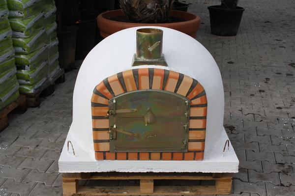 Grote foto pizzaoven livorno 90x90cm nieuwe steenoven doe het zelf en verbouw overige doe het zelf en verbouw