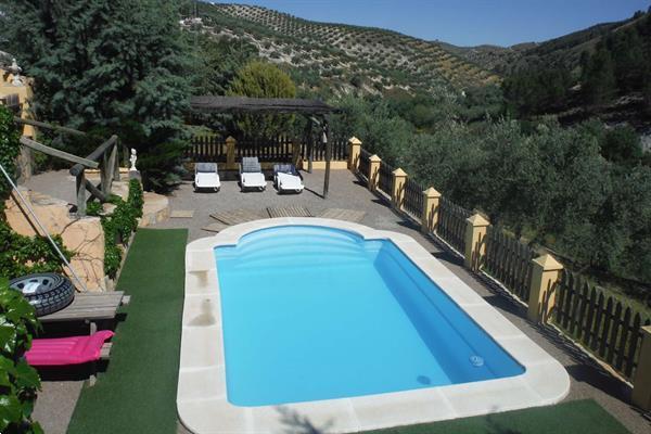 Grote foto vakantieboerderij met zwembad te huur spanje vakantie spanje