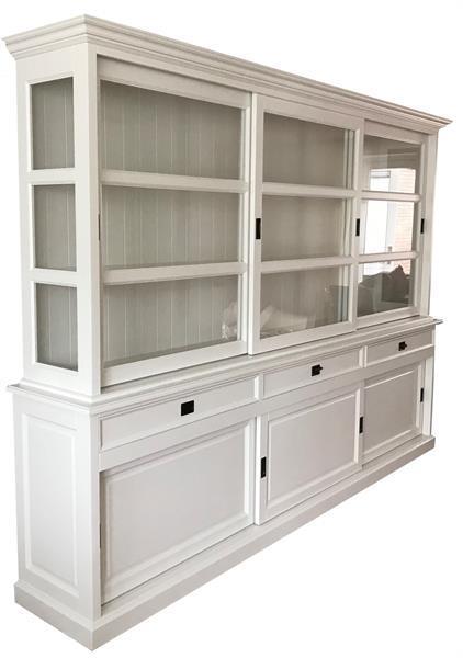 Grote foto witte buffetkast 300 x 220cm soft close laden huis en inrichting buffetkasten