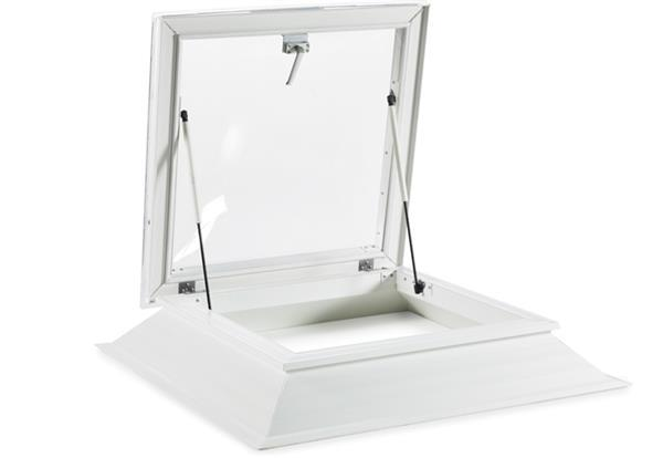 Grote foto excellent lichtkoepels met daktoetreding type sk doe het zelf en verbouw glas en ramen