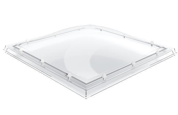 Grote foto excellent lichtkoepels zonder dakopstand type sk 3 mm dik doe het zelf en verbouw glas en ramen