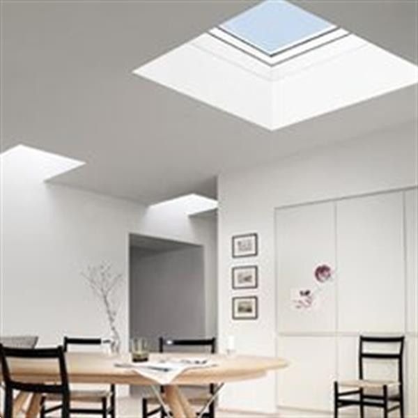 Grote foto lichtkoepel met dakopstand dagmaat 100x200 cm doe het zelf en verbouw glas en ramen