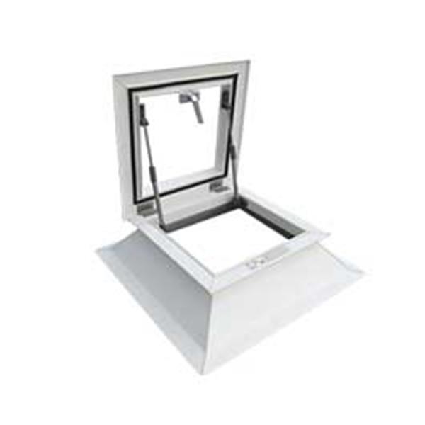 Grote foto lichtkoepel met dakbetreding dagmaat 100x100 cm doe het zelf en verbouw glas en ramen