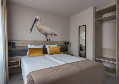 Grote foto kamer mindervalidenkamer oosterend vakantie nederland noord