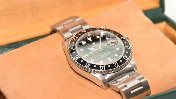 Grote foto rolex gmt master steel watch 16700 sieraden tassen en uiterlijk heren