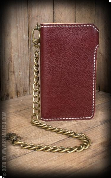 Grote foto rumble 59 leather wallet two tone cash only. kleding dames sieraden
