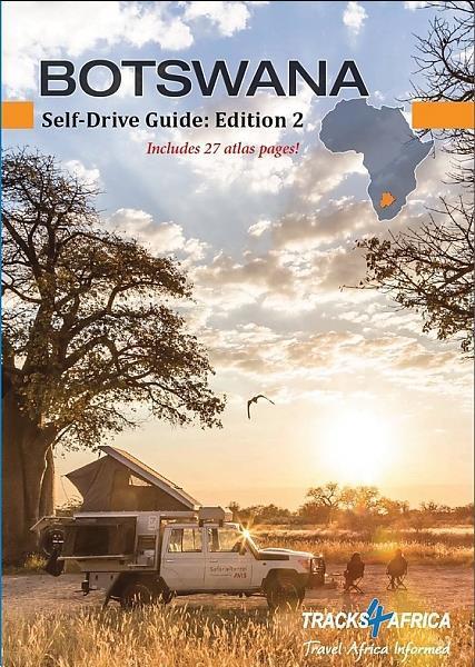 Grote foto resigids botswana self drive guide a4 formaat tracks4afric boeken overige boeken