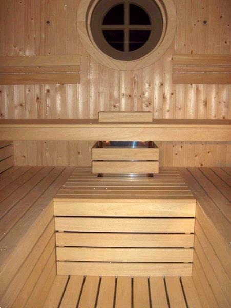 Grote foto sauna op zolder beauty en gezondheid sauna