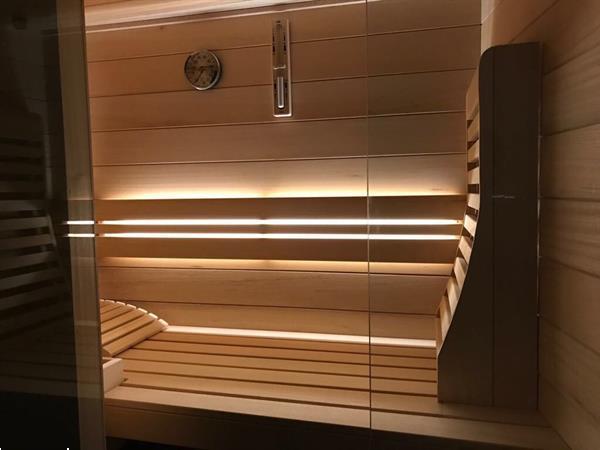 Grote foto infrarood sauna beauty en gezondheid sauna