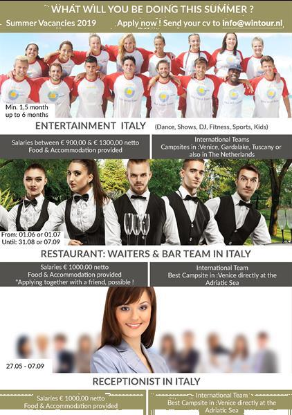 Grote foto entertainer in itali vacatures toerisme en reizen