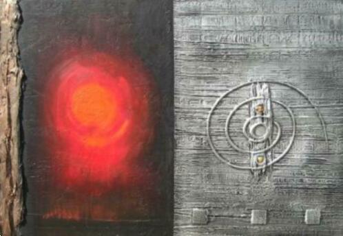 Grote foto titan kunst huis en inrichting schilderijen en foto