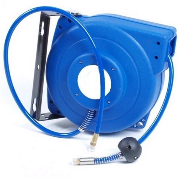 Grote foto haspel luchtslang 10 meter blauw doe het zelf en verbouw lasapparaten