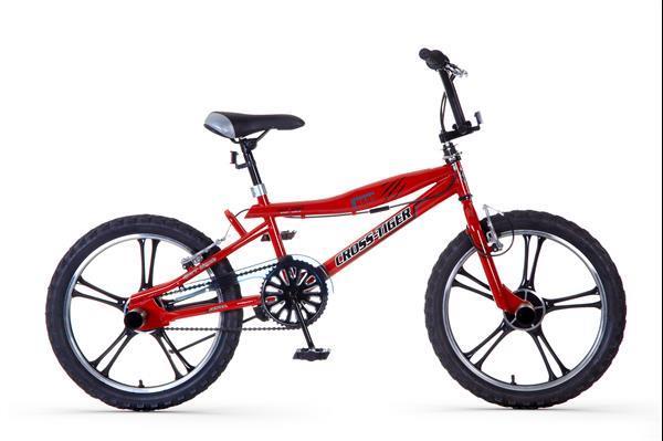 Grote foto crosstiger bmx rood fietsen en brommers algemeen