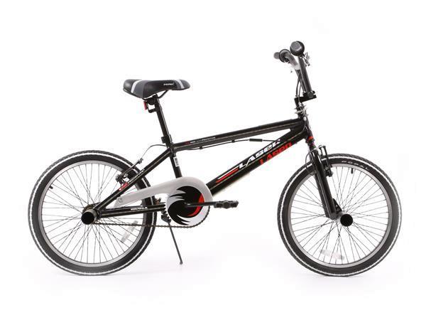 Grote foto bmx laser 20 inch zwart led fietsen en brommers algemeen