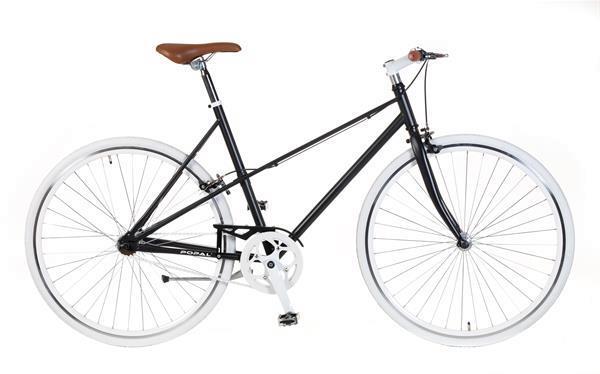 Grote foto popal fixed gear ladies 28 inch mat zwart fietsen en brommers damesfietsen