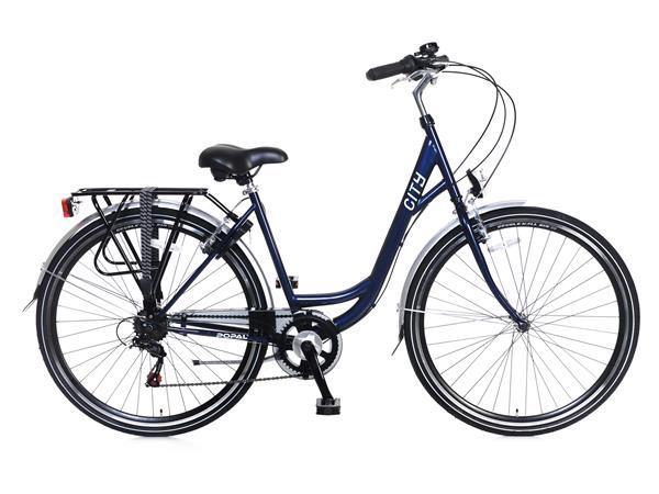 Grote foto city 6 speed shimano damesfiets 28 inch blauw fietsen en brommers damesfietsen