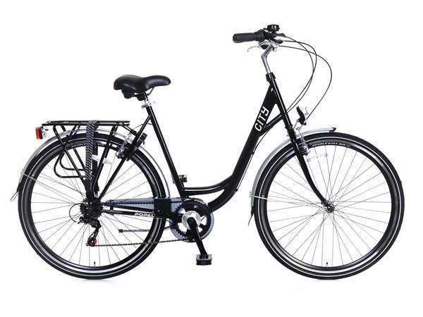 Grote foto city 6 speed shimano damesfiets 28 inch zwart fietsen en brommers damesfietsen