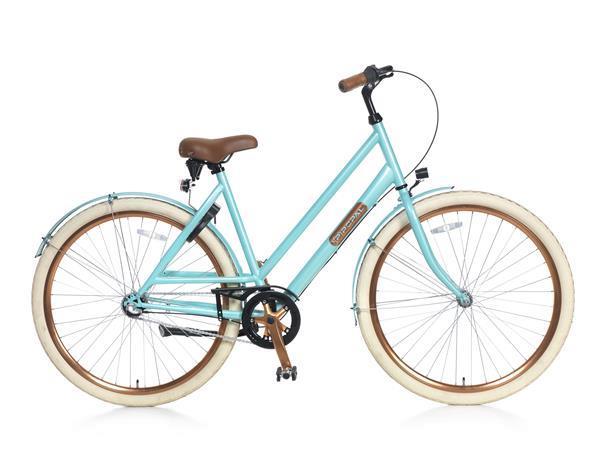 Grote foto montebella n3 damesfiets 28 inch lichtblauw fietsen en brommers damesfietsen