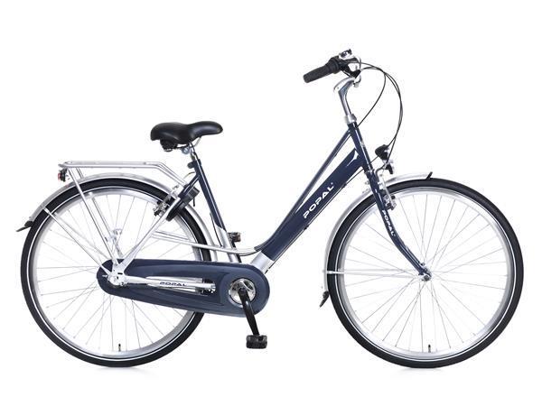 Grote foto city classic damesfiets 28 inch blauw versnellingen fietsen en brommers damesfietsen