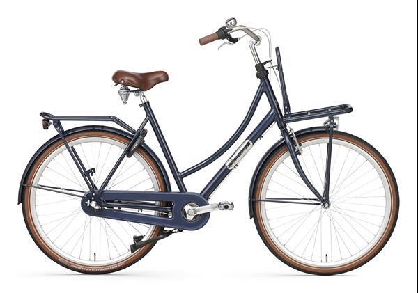 Grote foto daily dutch prestige n3 rn transportfiets donkerblauw fietsen en brommers damesfietsen