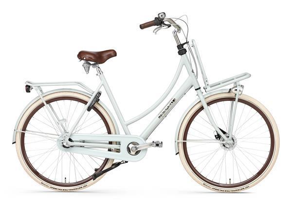 Grote foto daily dutch prestige n3 rb transportfiets 28 inch shadow gre fietsen en brommers damesfietsen