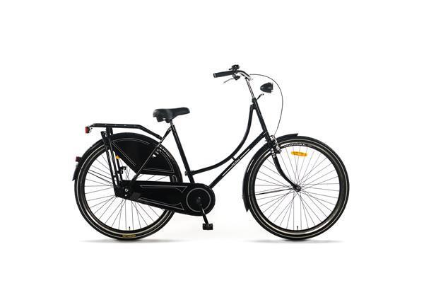 Grote foto omafiets 28 inch basic zwart fietsen en brommers damesfietsen