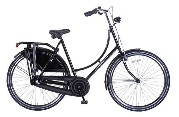 Grote foto popal omafiets s3 28 inch versnellingen grijs oranje kopie fietsen en brommers damesfietsen